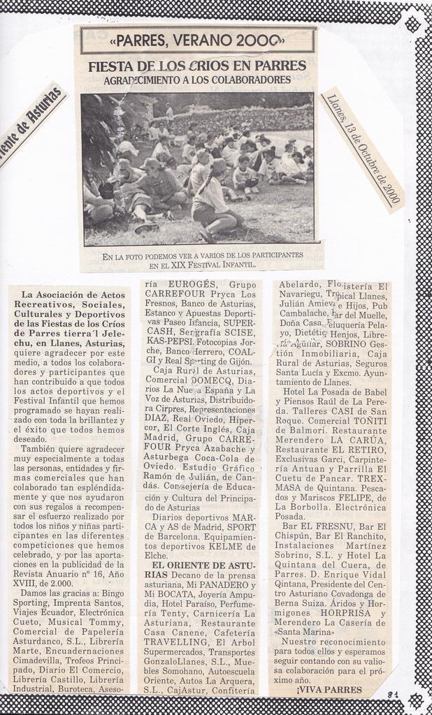 Tierra 39 l jelechu agradecimiento a los colaboradores for Muebles babel asturias