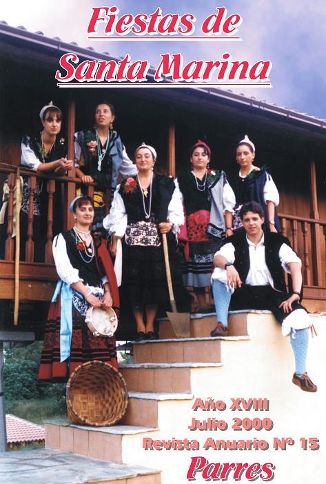 En esta foto de la Portada, podemos ver vestidas de aldeanas ...